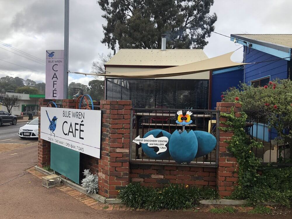 Picture of the Blue Wren Cafe