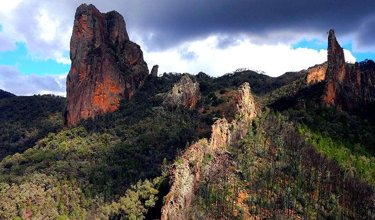 Warrumbungles National Park in Australia