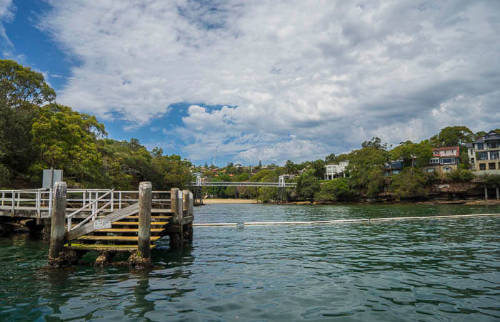 A view of the Parsley Bay